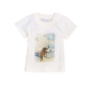 "Baby T-Shirt ""Balloons for Elefants"" - luftagoon"
