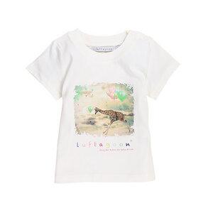 "Baby T-Shirt ""Giraffe"" (100% organic cotton) - luftagoon"