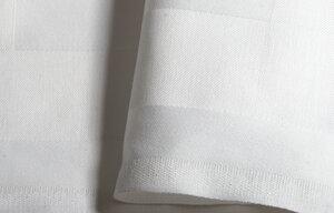 6 faire und nachhaltige Servietten Atlaskante, Napkin - Dibella Good Textiles