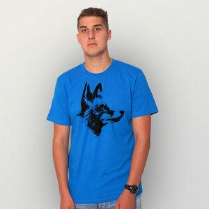 """""""Reineke Fuchs"""" Männer T-Shirt (kbA) - HANDGEDRUCKT"""