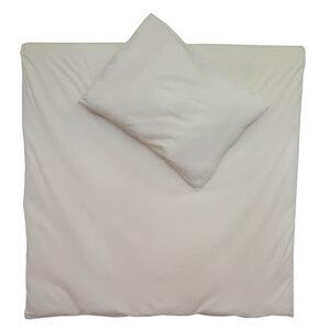 Bettwäsche Set Jersey 100x135cm + 40x60cm in natur - cotonsano