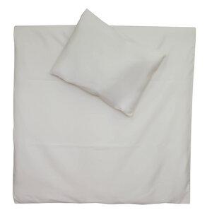 Bettwäsche Set gewebt 100x135cm + 40x60cm in natur - cotonsano