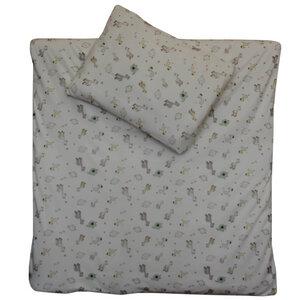 Wendebettwäsche Set Traum und Sterne 100x135cm + 40x60cm - cotonsano