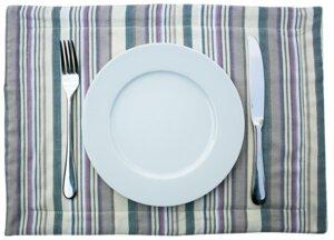 Tischset, Baumwolle, 4er Set, verschiedene Farben - Africulture