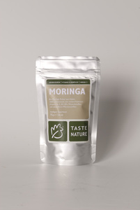 Moringa Bio-Blattpulver, 75g - Taste Nature