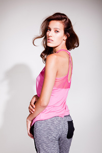 Easy Yoga Top - Pink - Mandala