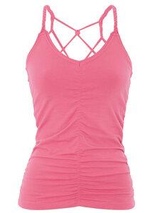 Cable Yoga Top - Pink - Mandala