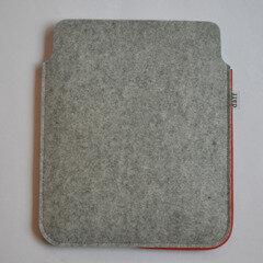 Filz Tablet Hülle / PadBag grau - Daff