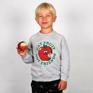 Kinder Sweatshirt Katthult aus Biobaumwolle - Bedruckt - DEDICATED