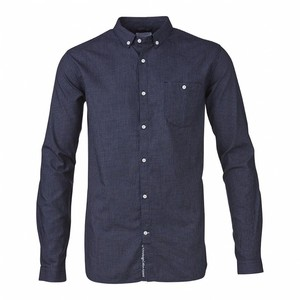 Small check indigo - KnowledgeCotton Apparel