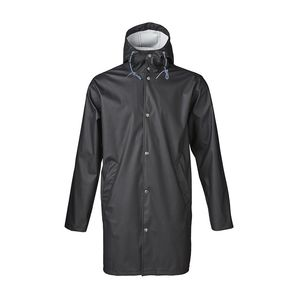 Long Rain Jacket Phantom - KnowledgeCotton Apparel