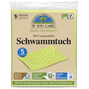 Vegane Schwammtücher im 5er Pack - If You Care (IYC)