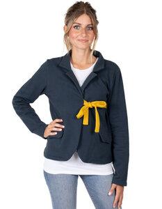 """Damen Jacke """"Bianca"""" aus Bio-Baumwolle blau - CORA happywear"""