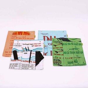 Recycling Design - Wandtasche mit 9 Fächern - ROMEO S - COLL.PART