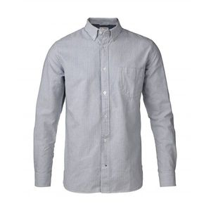 Button Down Oxford Shirt Striped - Skyway - KnowledgeCotton Apparel