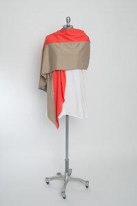 Drei Meter Schal: coral/sand - WearPositive