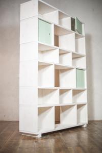Alma- das modulare Design Regal - ekomia