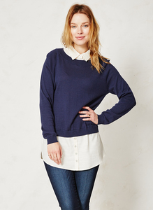 Iris Top Navy - Thought | Braintree