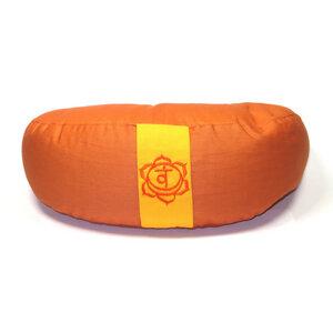 Chakra Meditations- und Yogakissen, Halbmond - Just Be