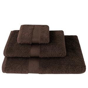 Handtücher weiche Qualität 100% Bio-Baumwolle (KbA) in Braun, verschiedene Größen - NATUREHOME