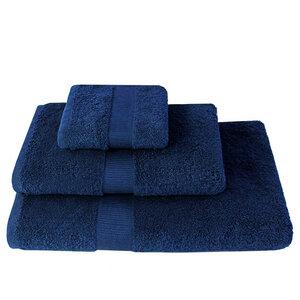 Handtücher weiche Qualität 100% Bio-Baumwolle (kbA) Dunkel-Blau, verschiedene Größen - NATUREHOME