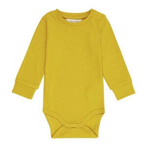 Babybody Langarm *MILAN* Teal oder Mustard GOTS I Sense Organics - sense-organics