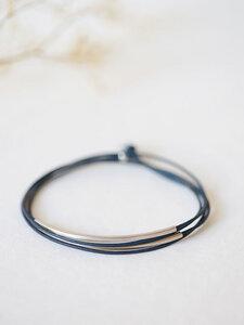 """Armband """"Tingval"""" / rhodiniert - pikfine"""