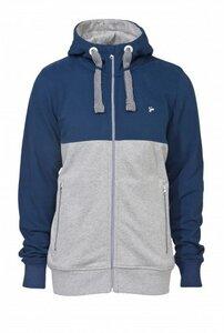 Männer Zipper MATTI grau-blau - recolution