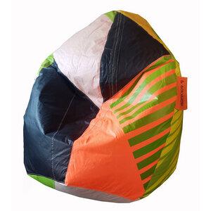 Sitzsack 400 Liter upcycelt aus Kitesegeln / Segeltuch UNIKAT. Handmade - Beachbreak