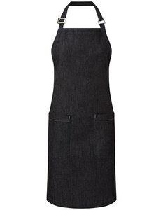 Latzschürze (Bio Baumwolle) Denim Grillschürze Küchenschürze - Premier Workwear
