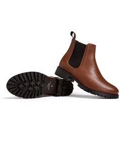 Luxe Chelsea-Stiefel mit tiefem Profil - Will's Vegan Shop