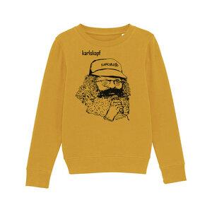 Kinder Sweatshirt Print | SAENGER | karlskopf | 85% Bio-Baumwolle - karlskopf