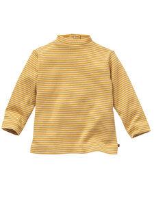 Baby und Mädchen Langarm-Shirt mit Stehkragen reine Bio-Baumwolle - People Wear Organic
