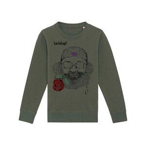 Kinder Sweatshirt Print | CASANOVA | karlskopf | 85% Bio-Baumwolle - karlskopf