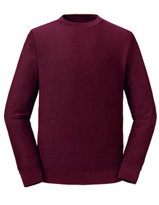 Herren Langarm Sweatshirt Bio Baumwolle Wendbar - Russel Pure Organic