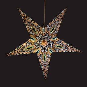 Weihnachtsstern aus Papier Ø60 cm - inkl. Beleuchtungsset - Raja - MoreThanHip