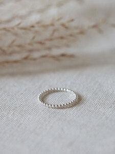 "Ring ""Mala"" / silber oder vergoldet - pikfine"