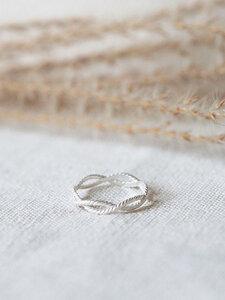 "Ring ""Onda"" / silber oder vergoldet - pikfine"