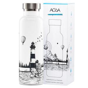 Trinkflasche aus Edelstahl 0,75l mit einzigartigen Designs - ACUA Bottles
