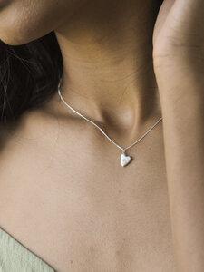 Kette HEART aus recyceltem Silber - Wild Fawn