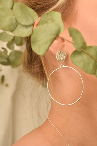 Ohrringe ANCIENT TRACES aus recyceltem Silber - Wild Fawn