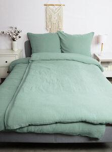 Musselin-Bettwäsche Medina 100% Bio-Baumwolle Made in Green in naturfarben - jilda-tex