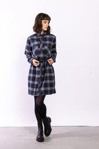 Karokleid Anna | Dress Check Blue - Elements of Freedom