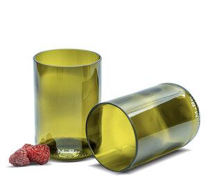 450ml Trinkglas aus der 1l Weinflasche - MaBe