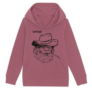 Kinder Hoodie Print | FARMER | karlskopf | 85% Bio-Baumwolle - karlskopf