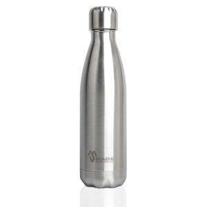 Trinkflasche aus Edelstahl 750 ml in silber - Made Sustained