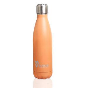 Trinkflasche aus Edelstahl 500 ml Orange - Made Sustained