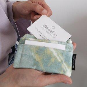kleine vegane denkefair-Geldbörse Portemonnaie - denkefair
