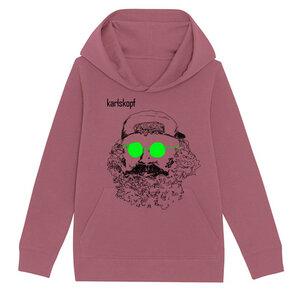 Kinder Hoodie Print | SKATER | karlskopf | 85% Bio-Baumwolle - karlskopf
