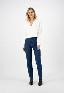 Piper Straight Stone Indigo - Mud Jeans